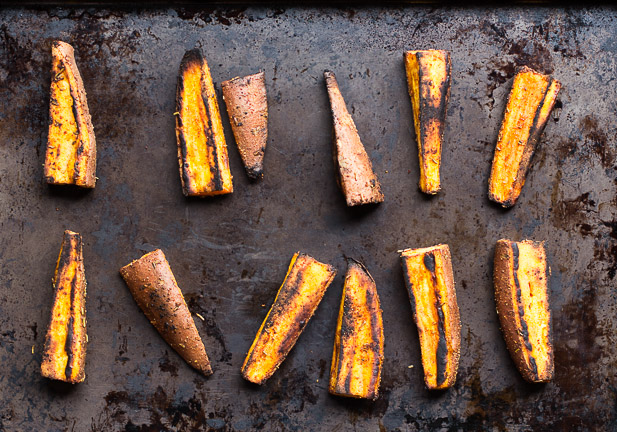 Oven Baked Sweet Potato Fries | www.ediblesoundbites.com