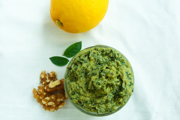 Clean Eating Pesto
