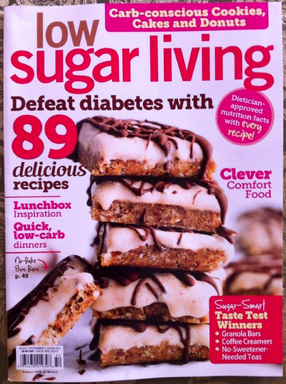 Low Sugar Living Magazine | ediblesoundbites.com