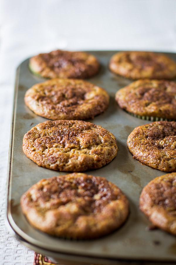 Cinnamon Swirl Banana Muffins