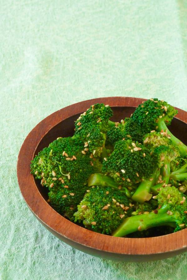 Thai style Sesame Broccoli
