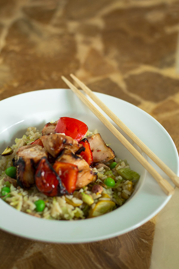 Thai-Style Chicken Rice Bowl