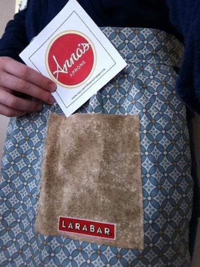 Larabar apron from Anna's Apron's