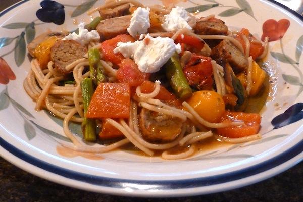 Clean Eating Spaghetti