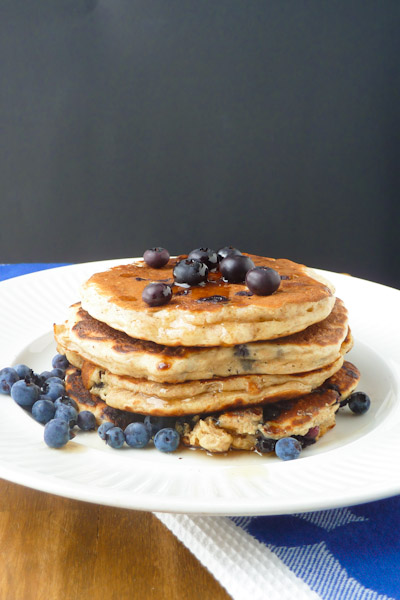 Moist Whole Wheat Pancakes