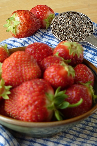 Strawberries and Chia Seeds