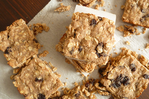 Soft Buckwheat Granola Bars