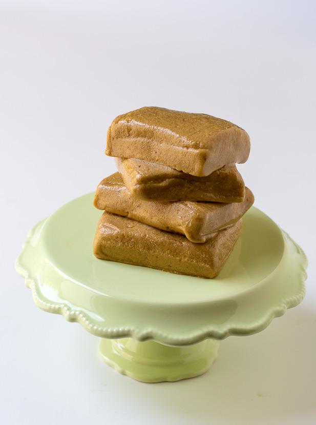 Peanut Butter Protein Fudge | ediblesoundbites.com