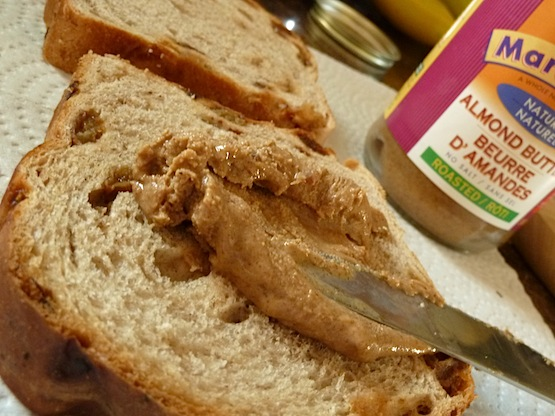 Nut Butter on Toast