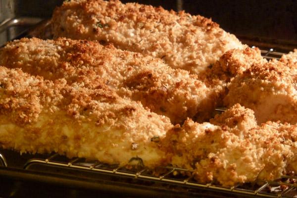 Crispy Baked Chicken Breast