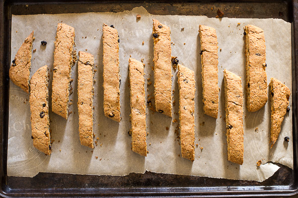 Biscotti with Lavender and Orange