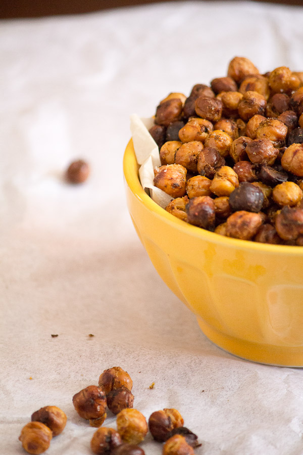 Chili Lime Roasted Chickpeas