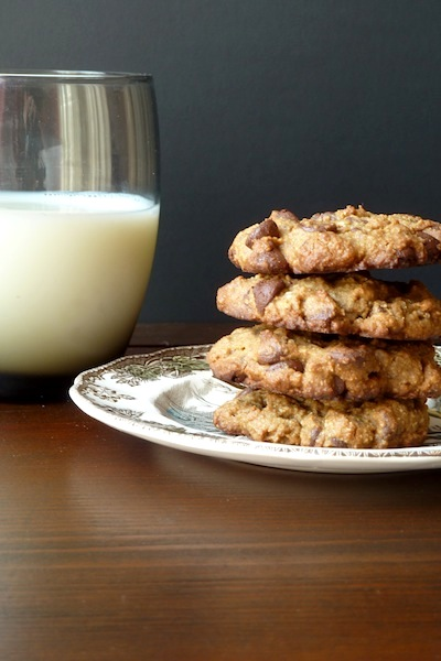 Butter free chocolate chip cookies
