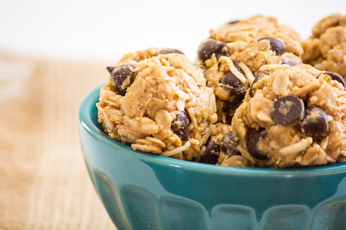 Chocolate Chip Oatmeal Bites | www.ediblesoundbites.com