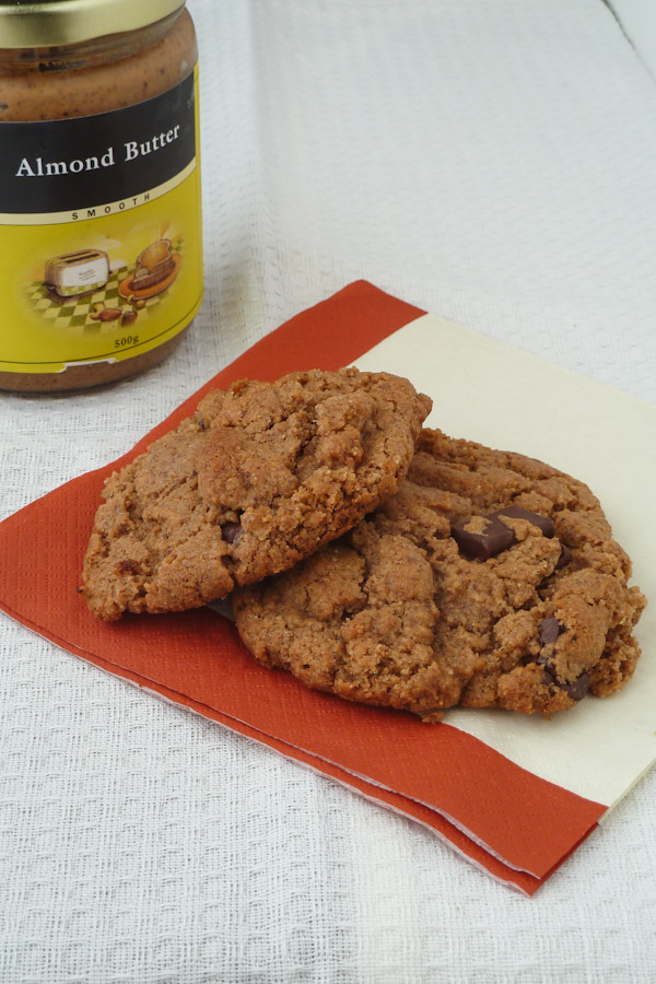 No-Flour, Dairy Free Cookies