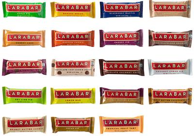 Larabar Flavours