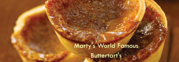 Marty's Buttertart's