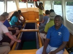 Glass-Bottom Boat with Wayne