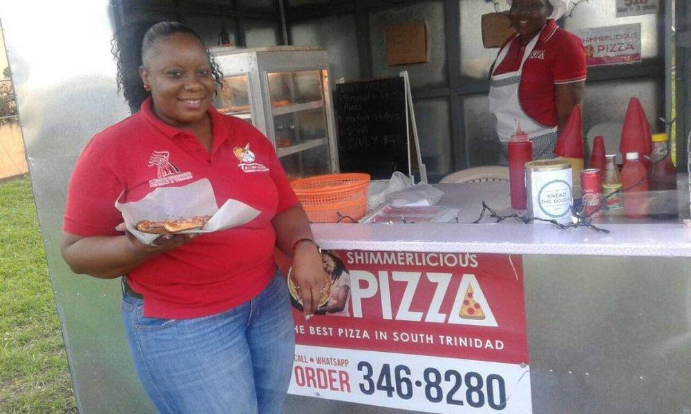 Shimmerlicious Pizza, La Brea, Trinidad