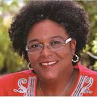 Mia Amor Mottley, QC, MP, Prime Minister of Barbados.  Read More →