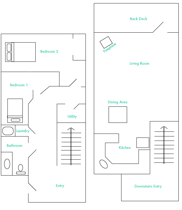 Alpine North Floorplan