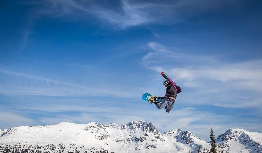 Snow Season In Whistler