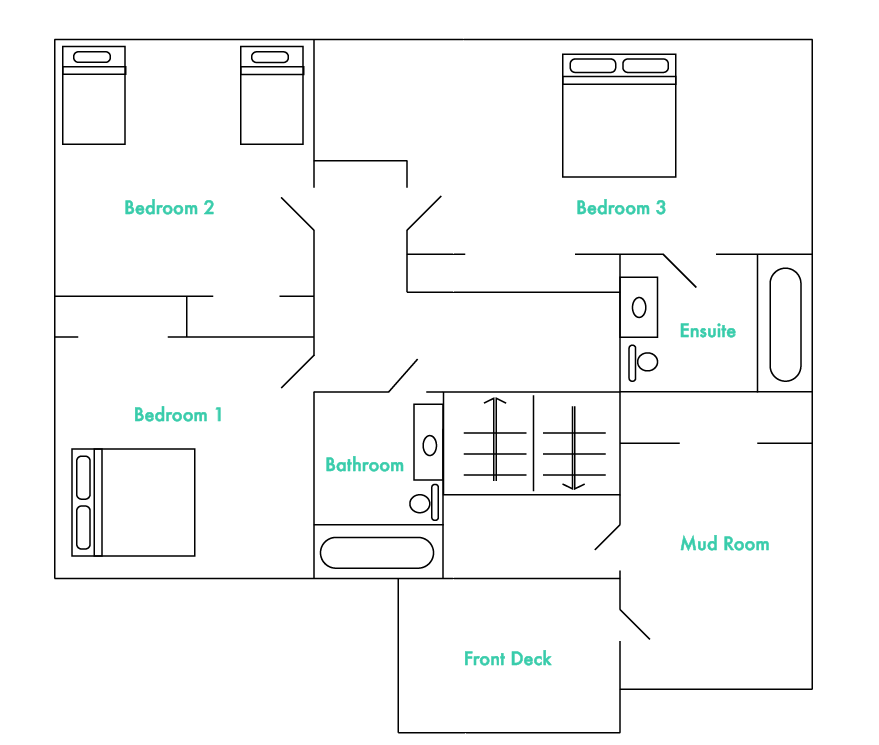 Mid-level Floor Plan
