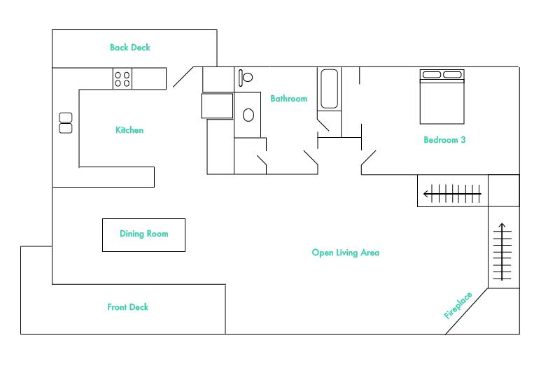 Mid Level Floor Plan