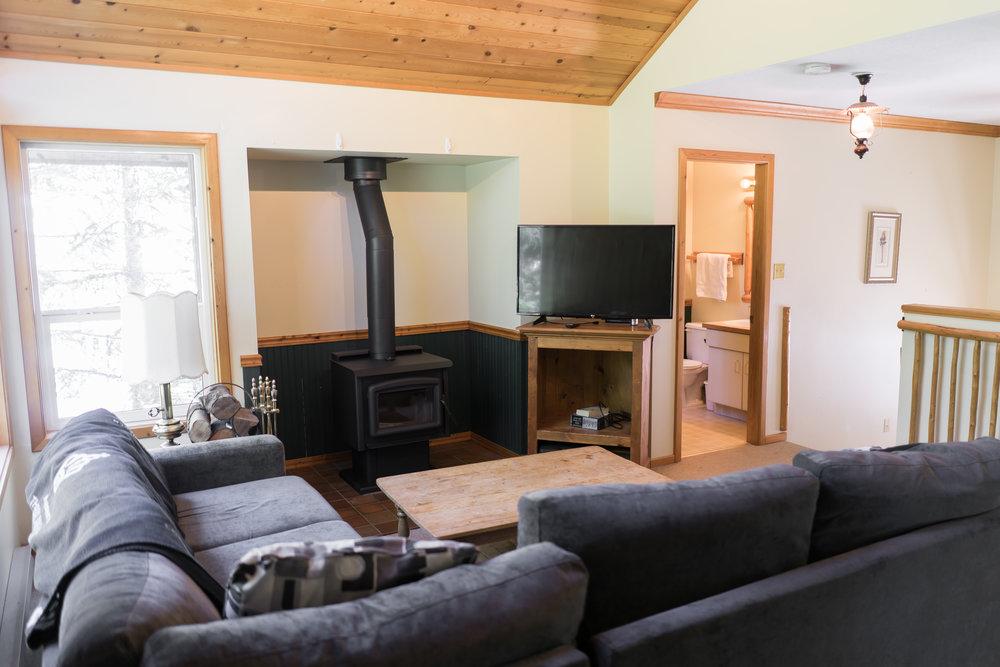 Callaghan Lodge Living Area