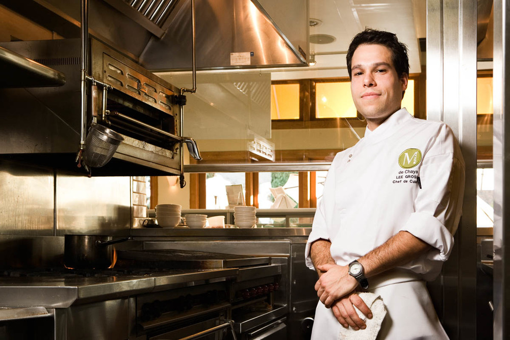 Lee Gross, Chef for Angeleno Magazine