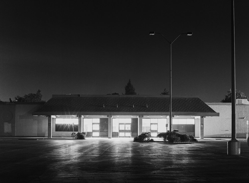 Old Safeway // Hasselblad H2 // 50mm Wide-angle lens // Illford Delta 400 film
