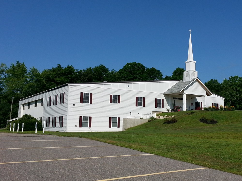 The final product: Nashua Baptist Church, NH