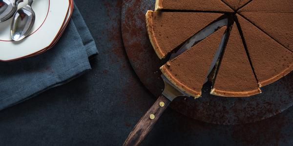 Chocolate Peach Tart