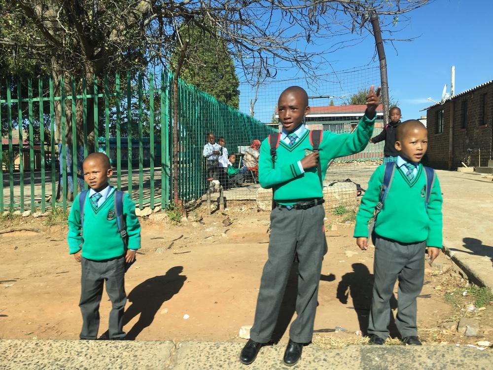 School in Soweto, Johannesburg