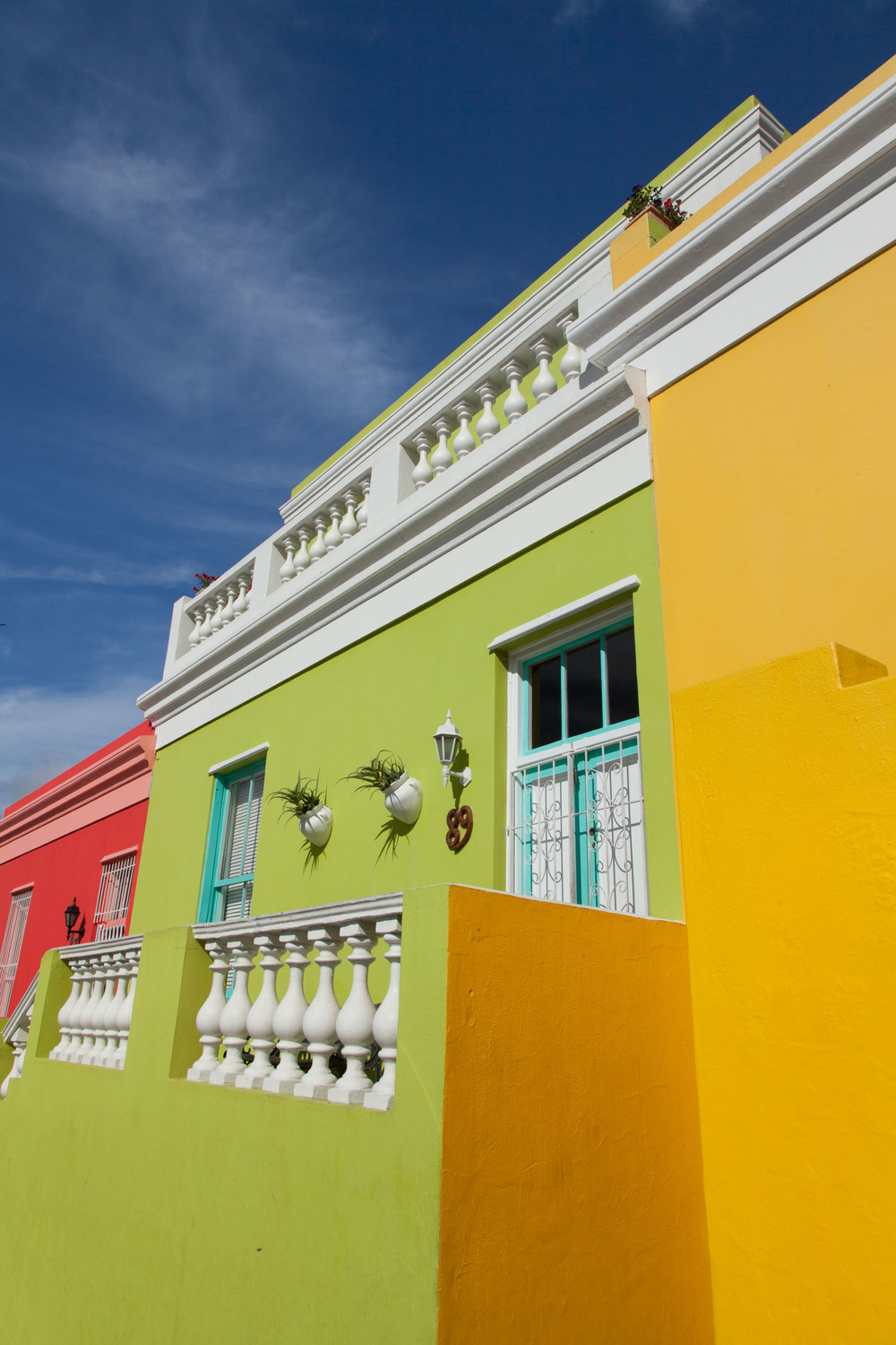 Colorful homes in Bo Kaap, Cape Town
