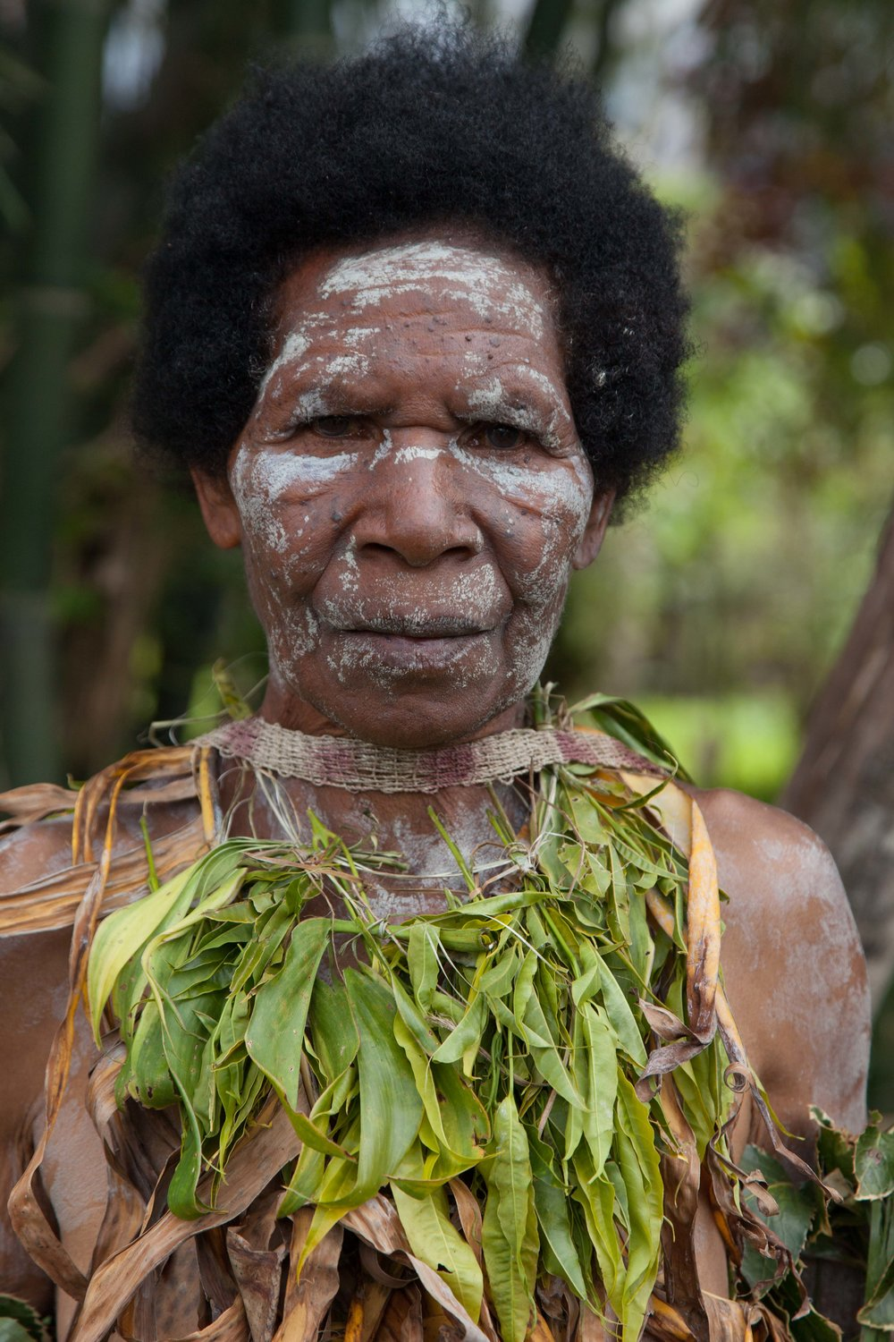 Nokondi woman. Eastern Highland province