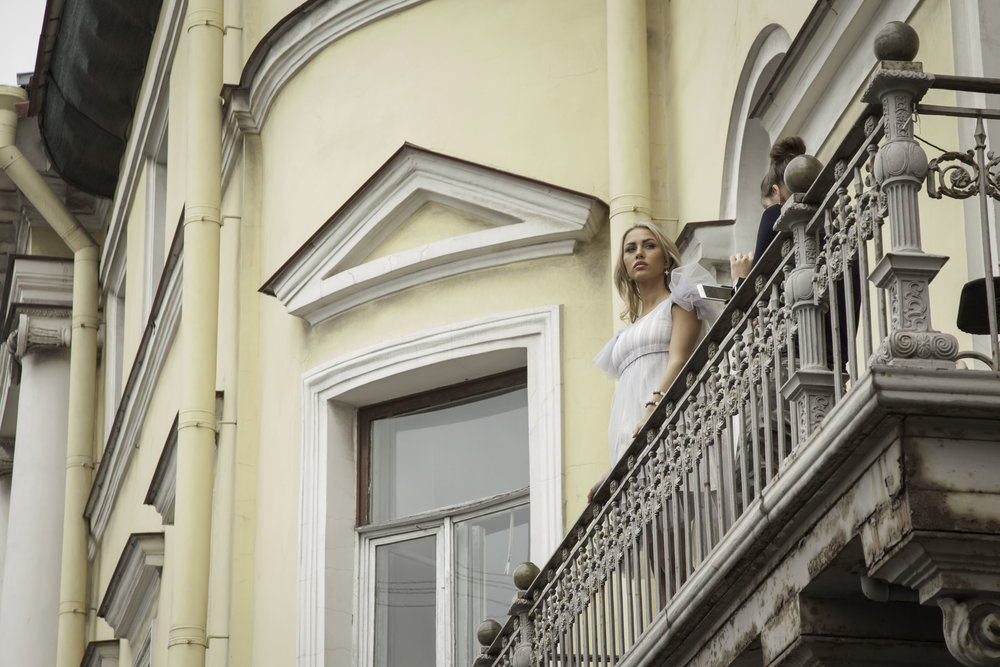 St Petersburg's European architecture is the perfect backdrop for wedding photo shoots.