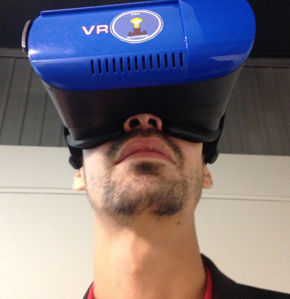 Recursos de realidad virtual formaron parte de la iniciativa. (Foto: Suministrada)