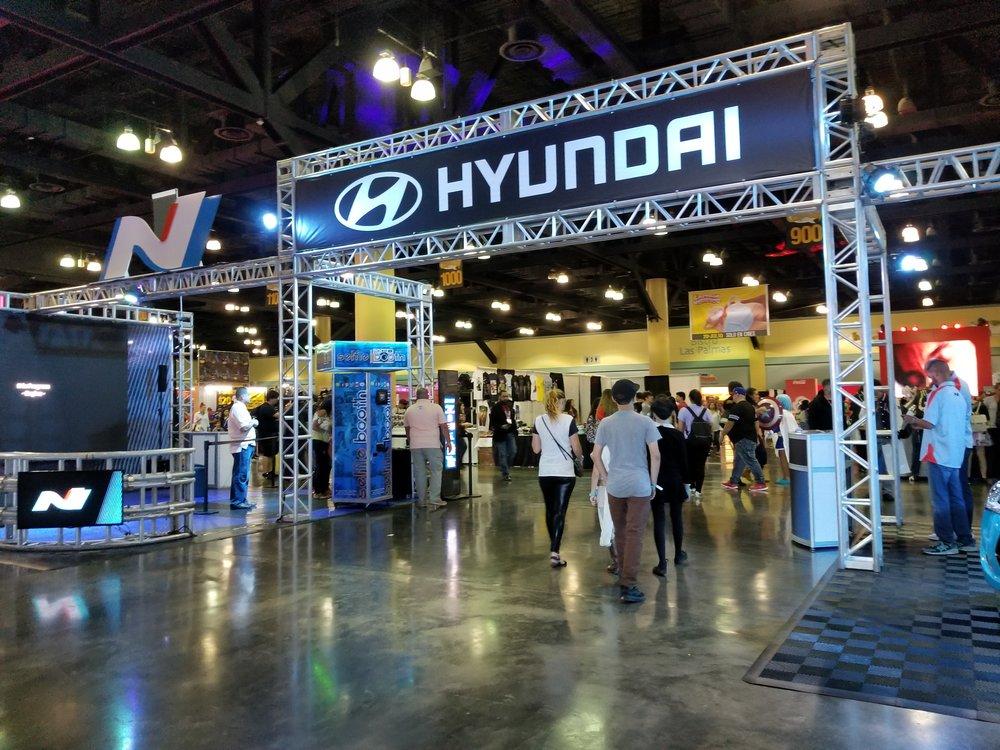 Hyundai mostró sus nuevos modelos. (Foto: Lillian Agosto)