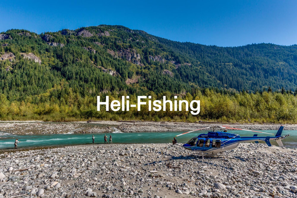 Remote fly fishing at it's finest!
