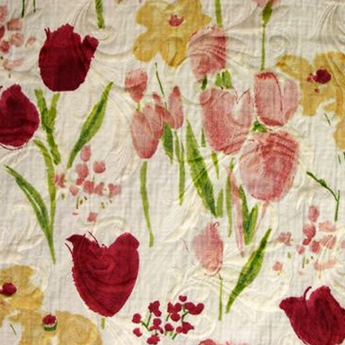 Crocus Pique Rose Style: Kids Fabrics ID: 10544 Price: $29.90 per yard Content: 75% Cot. 25% Poly. Double Width 108""