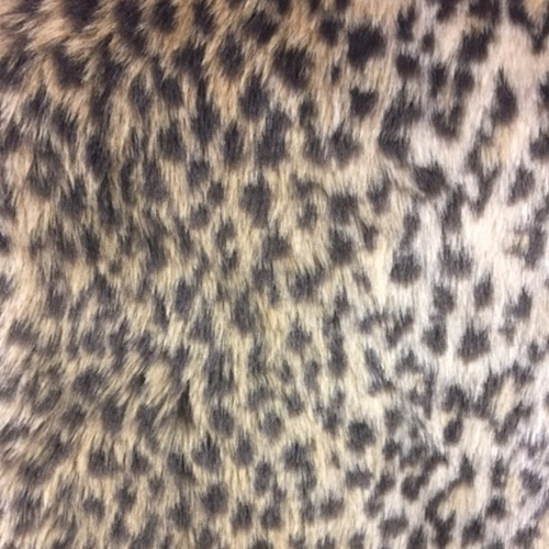 Leopard Fur  Style: Faux Furs ID: 15663 Content: 100% Polyester $Price: $29.90 per yard