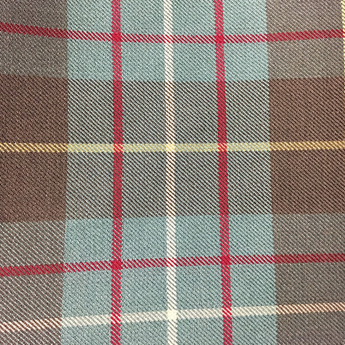 Flye Plaid #202  Style: Checks & Plaids ID: 16315 Color: Brown Retail Price: $71.90 per yard Content: 100% Wool