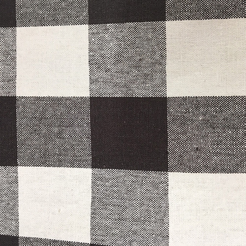 "Sm Buffalo 90""  Style: Checks & Plaids ID: 16305 Color: Black Retail Price: $12.90 per yard Content: 100% Cotton"