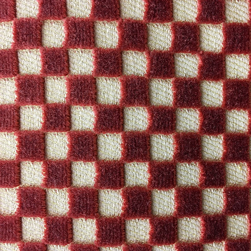Squares  Style: Checks & Plaids ID: 11534 Color: Red Retail Price: $94.90 per yard Content: 100% Viscose