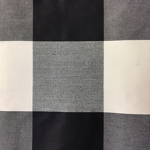 Tatanka Buffalo Check  Style: Checks & Plaids ID: 16063 Color: Black Retail Price: $20.90 per yard Content: 100% Cotton