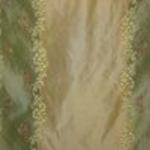 Tafetta Emb Stripe Green Style: Silk ID:13450 Retail Price:$38.90 Content:100% Silk