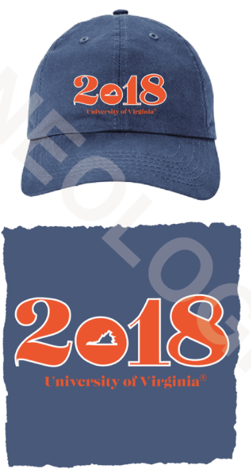 Embroidered Blue Baseball Hat
