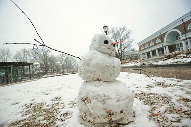 Enjoy the snow and good luck with finals hoos!