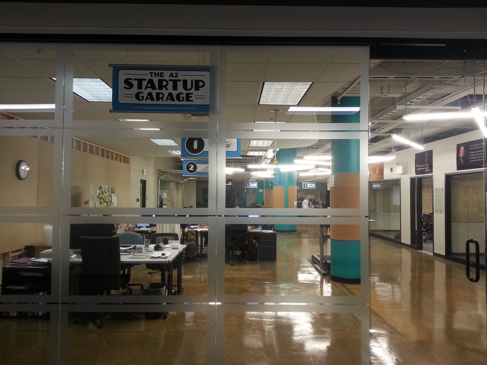 The A2 Startup Garage has space for 15-20 companies